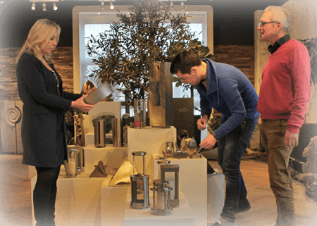 informatie over grafzerken orienteren in onze showroom