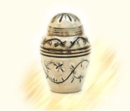 Messing mini-urn