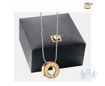 Omega Ashes Pendant Pol and Bru Gold Vermeil w/Zirconia foto 1