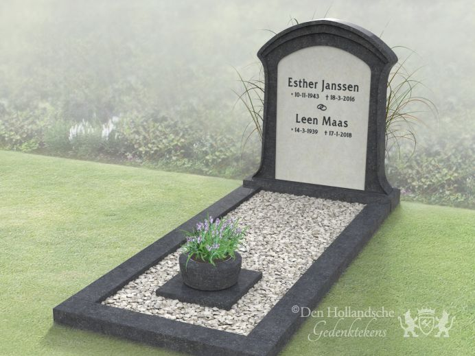 Klassiek grafmonument foto 1