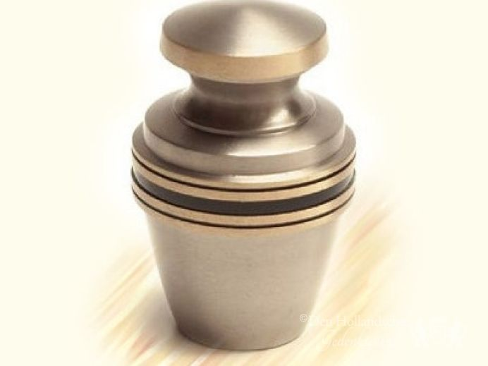 Messing mini-urn foto 1
