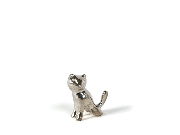 Silver cat | Sterling silver foto 1