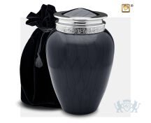 Blessing Adult Urn Pearl Midnight and Pol Silver foto 1